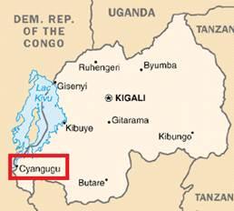 Cyangugu-Map